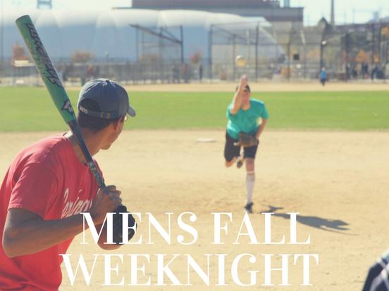 Fall – Weeknight Men's League