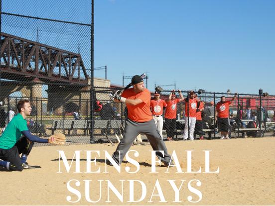 Fall – Sunday Men's League