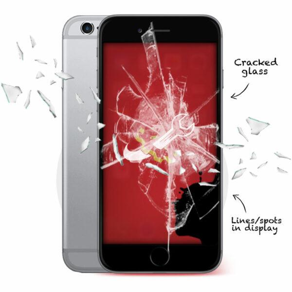 iPhone 6 Cracked Screen Repair