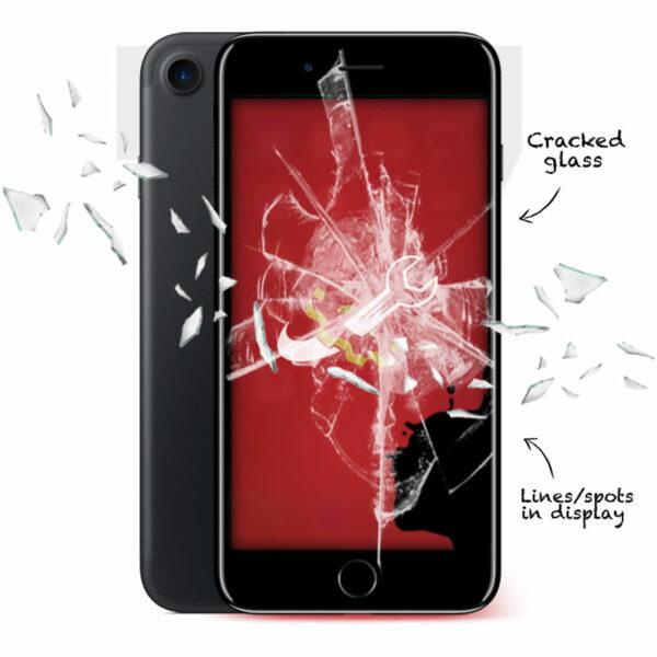 iPhone 7 Cracked Screen Repair