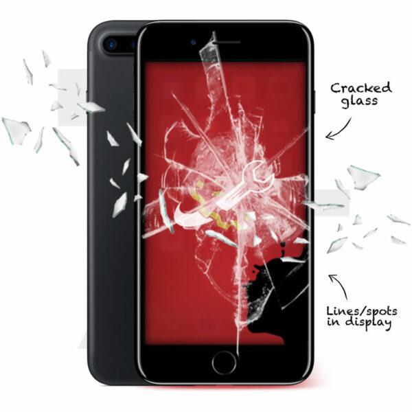 iPhone 7 Plus Cracked Screen Repair