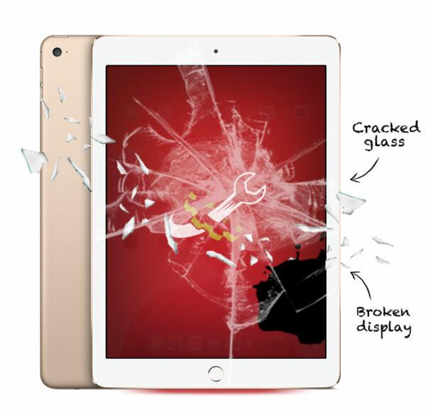 iPad Air 2 Cracked Screen Repair