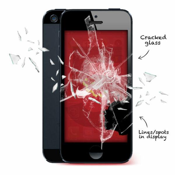 iPhone 5 Cracked Screen Repair