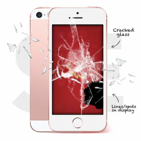 iPhone SE Cracked Screen Repair