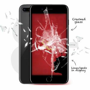 iPhone 8 Plus Cracked Screen Repair