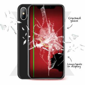 iPhone X Cracked Screen Repairs