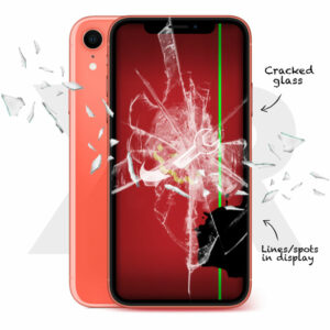 iPhone XR Cracked Screen