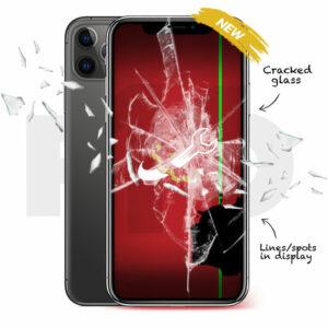 iPhone 11 Pro Cracked Screen Repair