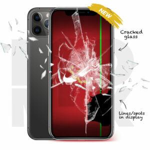 iPhone 11 Pro Max Cracked Screen Repair