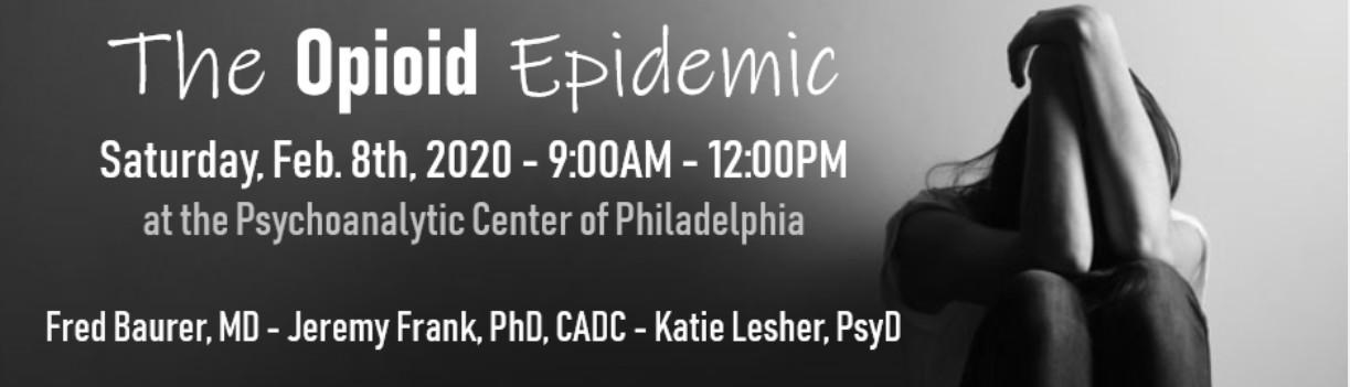 opioid epidemic philadelphia event info