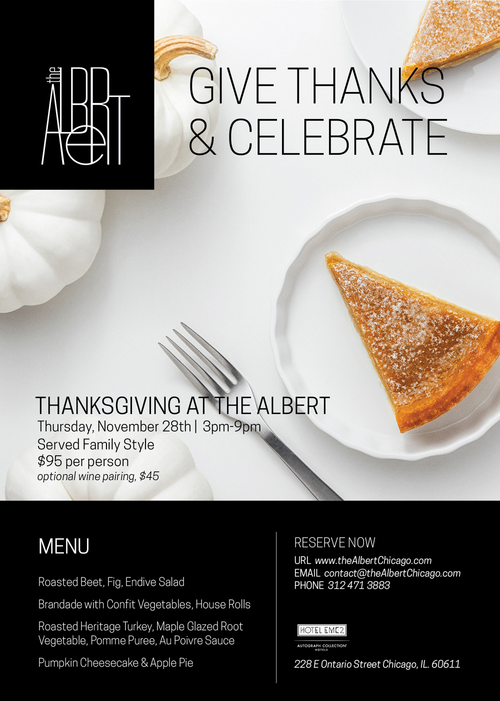 the Albert Thanksgiving