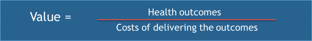 Value Healthcare Outcomes over Healthcare Costs