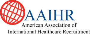 AAIHR Logo American Association of International Healthcare Recruitment