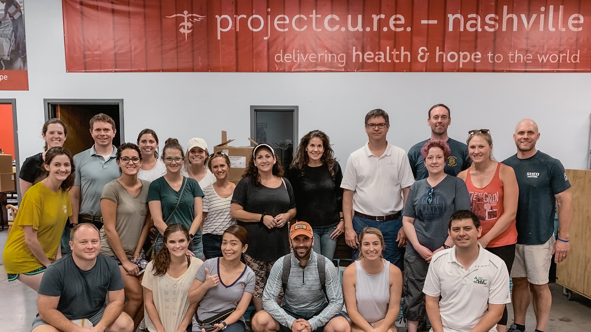 Shearwater Health Volunteers at Project C.U.R.E. to Improve Healthcare Outcomes Globally
