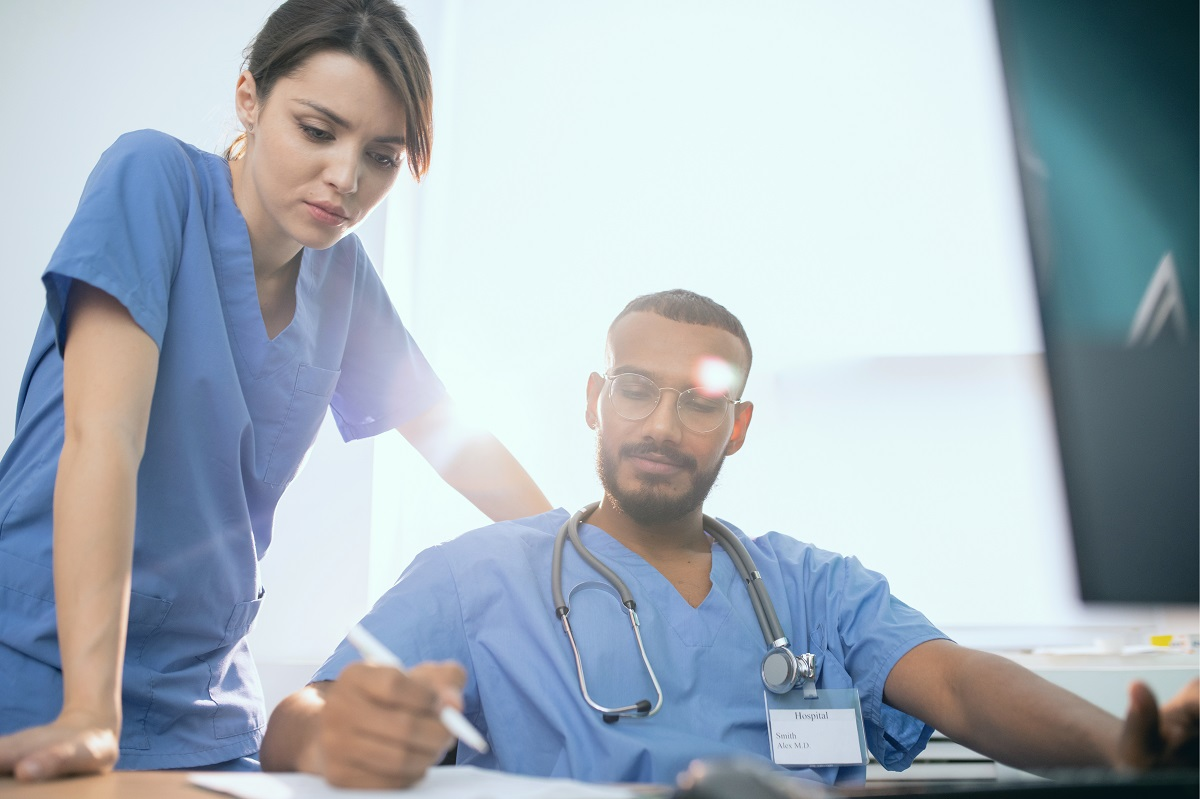 Clinicians Working at Peak of Practice