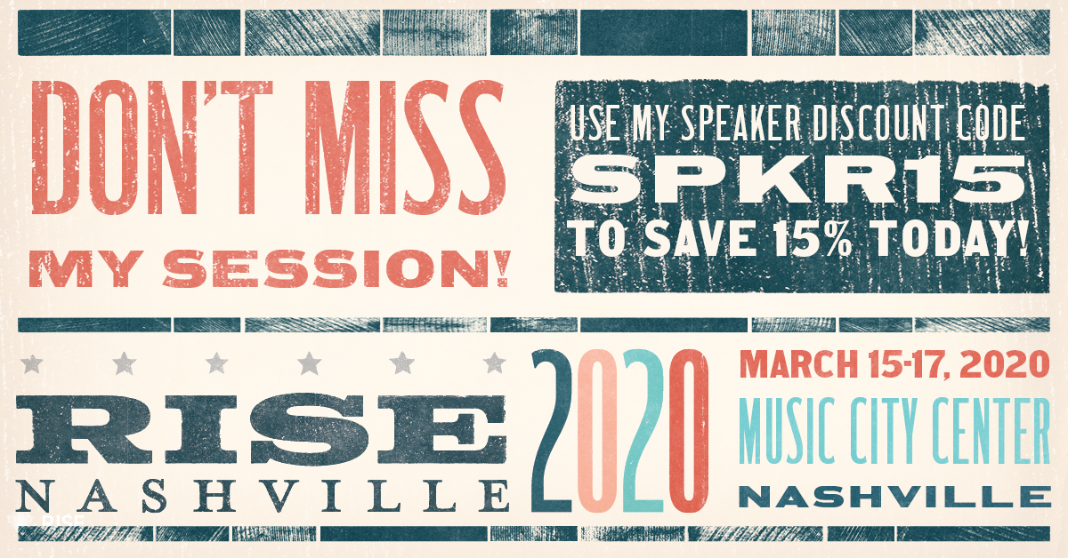 Serving as Chairperson for Risk Adjustment Programs at RISE Nashville 2020