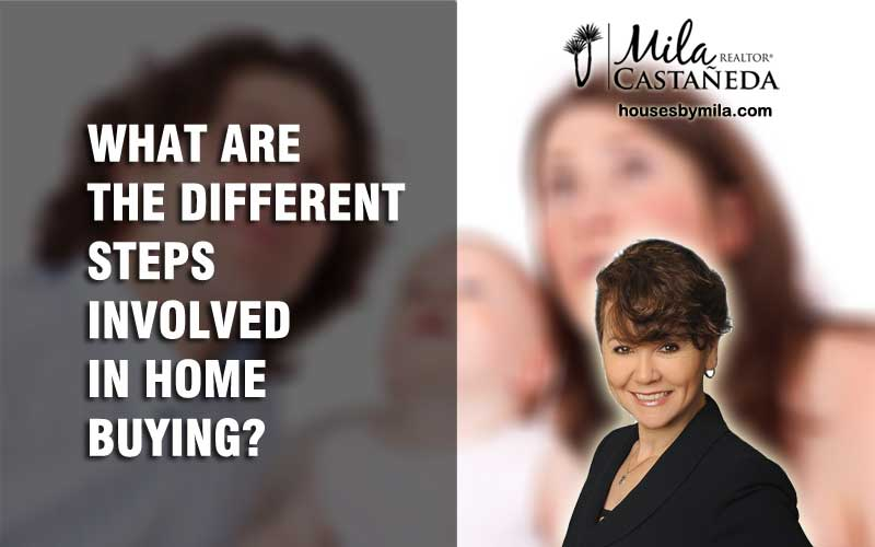 WHAT ARE THE DIFFERENT STEPS INVOLVED IN HOME BUYING?