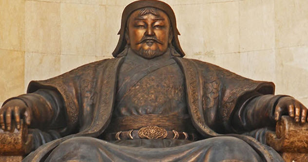चंगेज़ खान - पहला मंगोल शासक