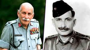 फील्ड मार्शल सैम मानेकशॉ - पूर्व भारतीय सेना प्रमुख
