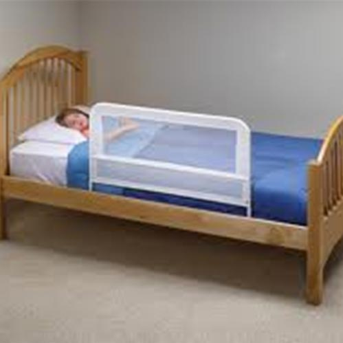Child bed safety rail for rent