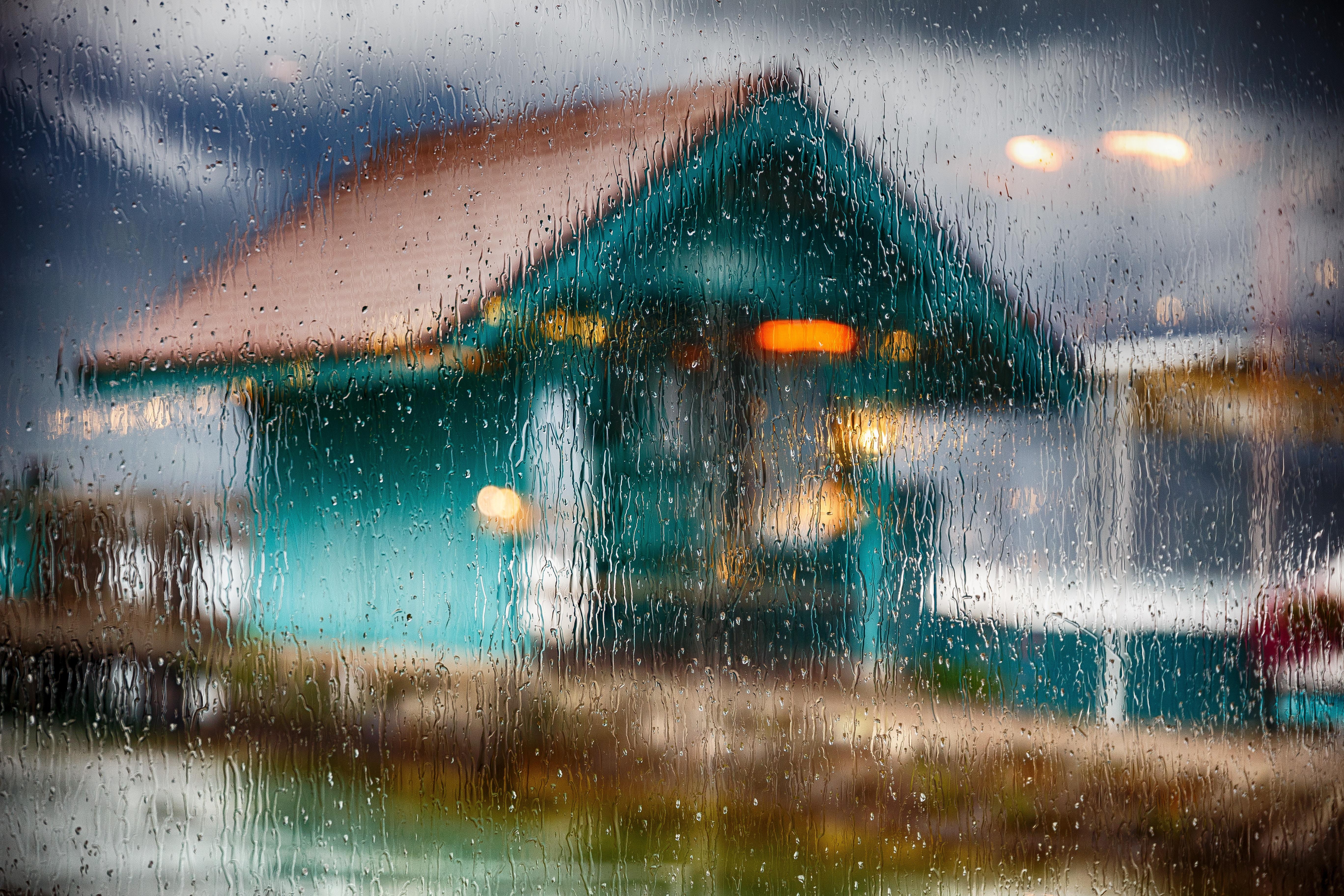Rain over home