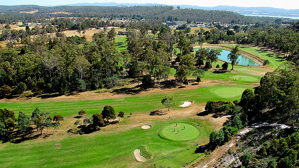 exeter golf club looking north