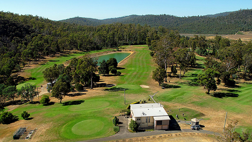 exeter golf club looking south