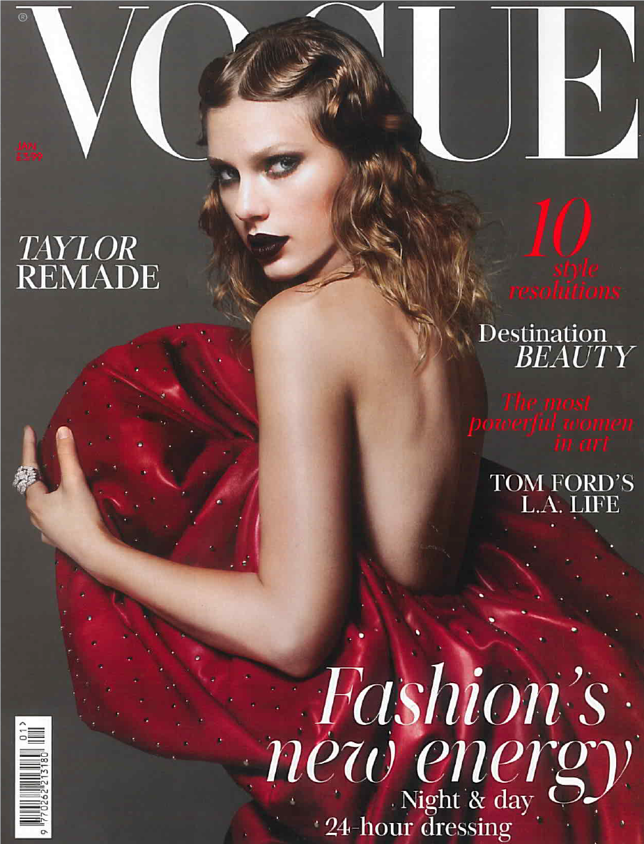 Vogue January 2018 Katherine Mahony Cover