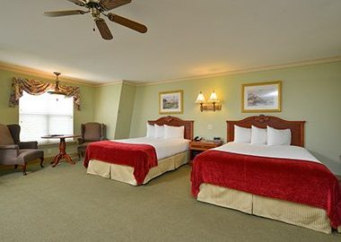 Bar Harbor Grand Hotel Deluxe Queen Rooms | Bar Harbor Grand Hotel two bedroom units