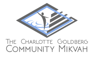 The Charlotte Goldberg Community Mikvah Logo