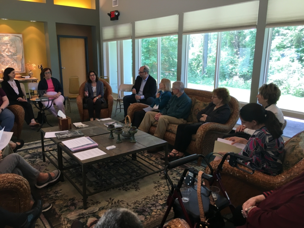 Fairmount Temple's Lifelong Learning at the Mikvah