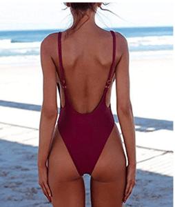 low back bathing suit.