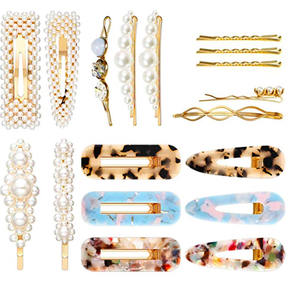 Best set of Trendy Barrettes on Amazon.