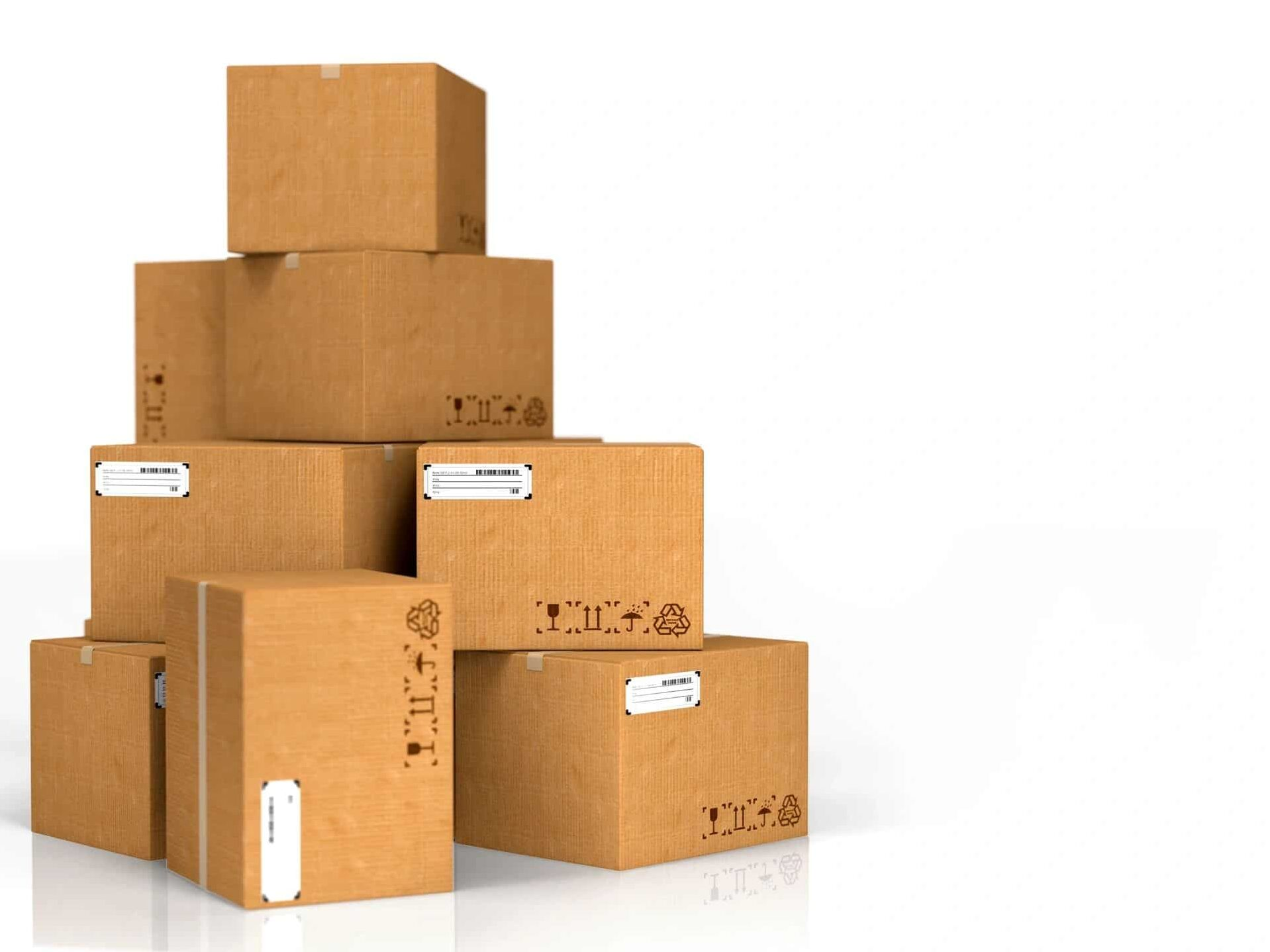 image of boxes from Amazon Vine.