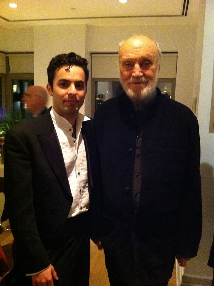 Farkhad Khudyev and Kurt Masur