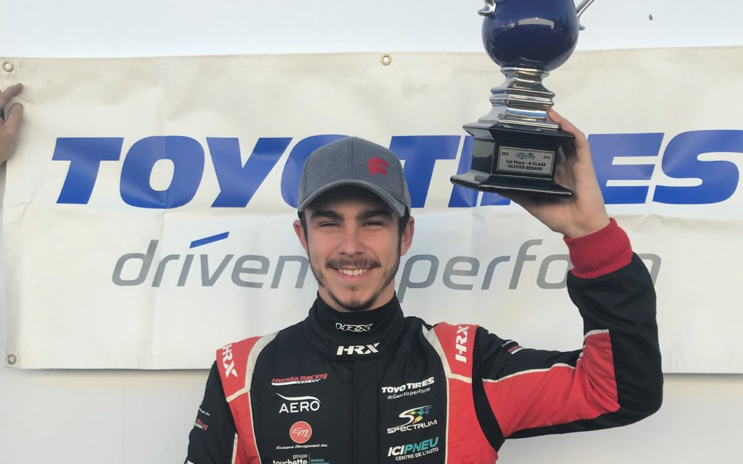 Bedard is Crowned Champion