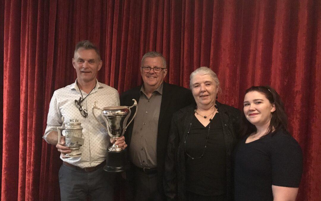 Bodrug Earns Inaugural BEMC Bob McCallum Award