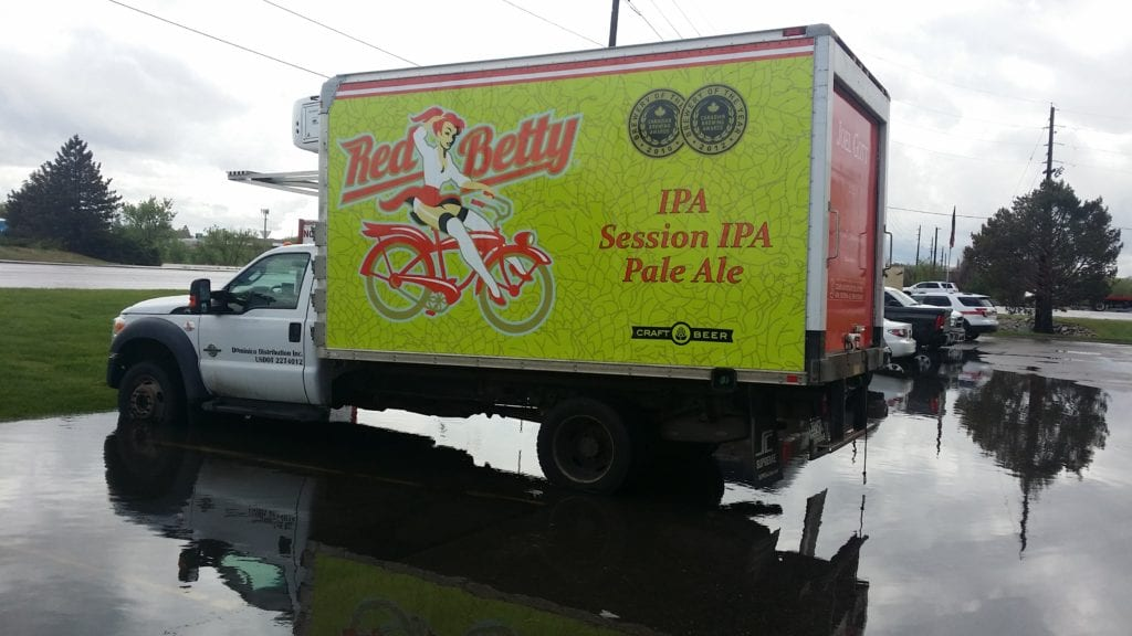 Custom Box Truck with Wrap