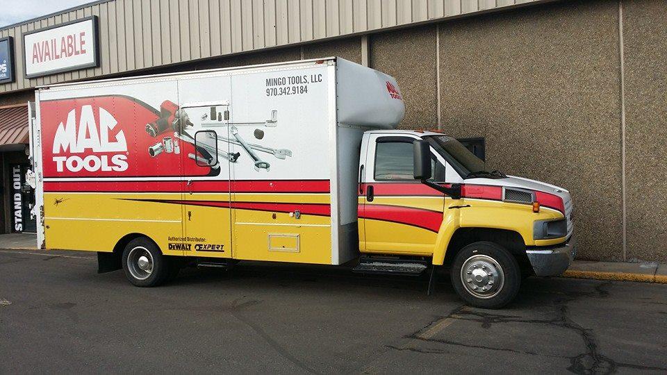 Mac Tools Truck Wrap