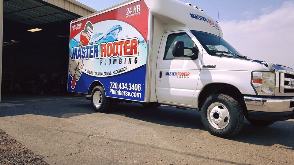 Vehicle Wrap Master Rooter Truck Wrap