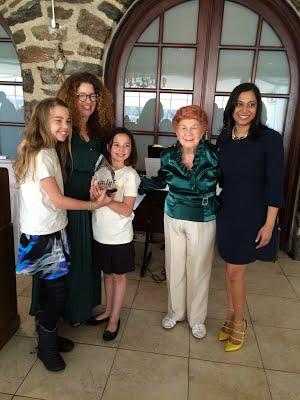 Laura Rebell Gross, Her Children, Ann, Allison Persad