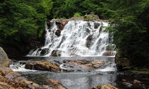 New-Hampshire-Waterfall