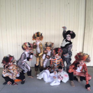 Talent Show contestants at Ford County Fair in Melvin, Illinois