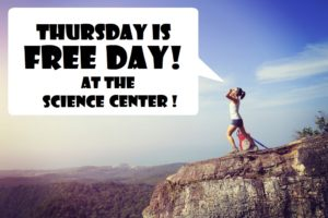 The Science Center Free Admission Day! @ The Science Center