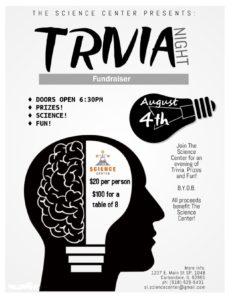 Trivia Night Fundraiser @ The Science Center