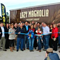 South MS Planning Lazy Mag Expansion Ribbon Cutting