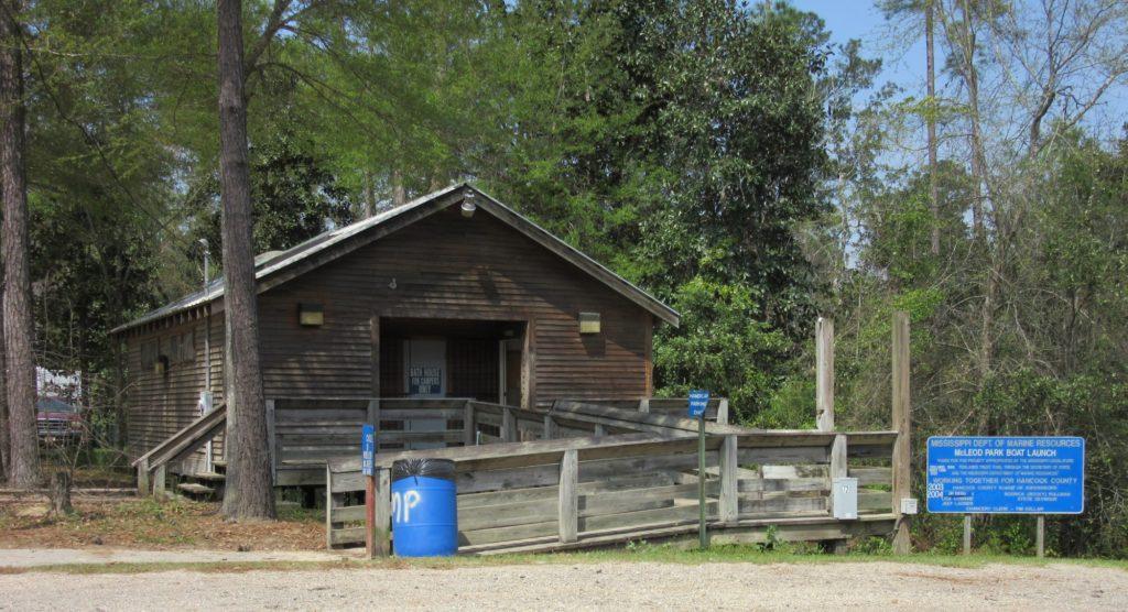 McLeod Park Bathhouse Kiln Mississippi