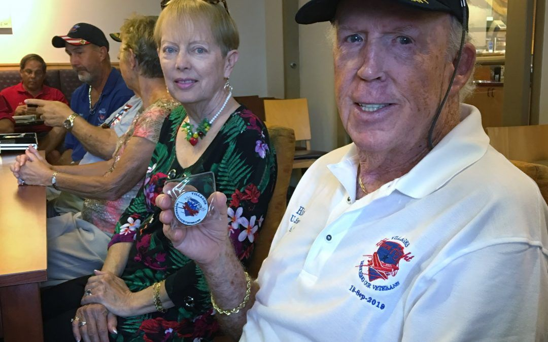 Village Honor Flight Challenge Coins