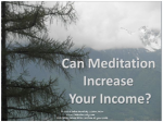 Can Meditation Increase Your Income?