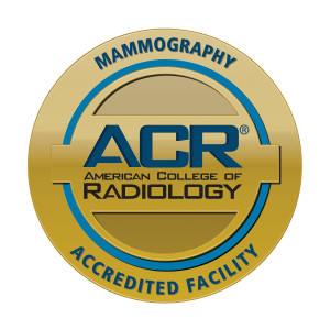 American College of Radiology Mammography Accreditated Facility Seal